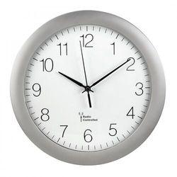 Hama Zegar ścienny DCF PG-300 srebrny