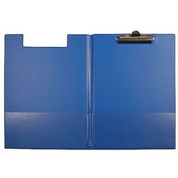 Teczka z klipem i okładką A5 niebieska Biurfol KH-03-01