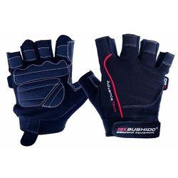 Rękawice na siłownię rękawiczki do ćwiczeń bushido - L/M