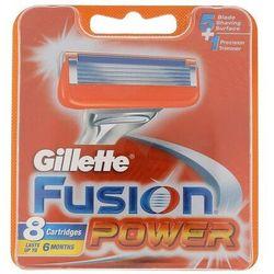 Gillette Fusion Power wkład do maszynki 8 szt dla mężczyzn