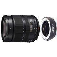 Obiektywy fotograficzne, PANASONIC 14-50mm 2.8-3.5 obiektyw z adapterem mocowanie micro 4/3