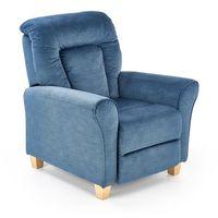 Fotele, Fotel Bard Rozkładany kolor niebieski