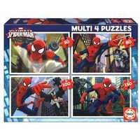 Puzzle, Puzzle 4 W 1 Ultimate Spider-Man