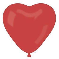 Balon DUŻE czerwone serce - 44 cm - 1 szt.