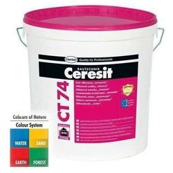 Tynk silikonowy CERESIT CT74 1,5mm 25kg CAPADOCCIA 6