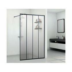 Ścianka prysznicowa w industrialnym stylu ATALIA - 120*200 cm