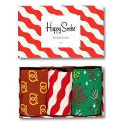 Skarpetki Happy Socks Gift Box Świąteczny (3-pak) XMAS08-4001