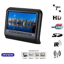 NVOX VR7017HD BL Monitor na zagłówek samochodowy LCD 7