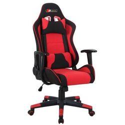 Fotel obrotowy SIGNAL Zanda czarny-czerwony - ZŁAP RABAT: KOD50
