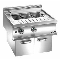 Urządzenie do gotowania makaronu i pierogów gazowe z szafką| linia Domina 700 | 40L | 13300W | 700x730x(H)580 mm