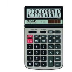 Kalkulator biurowy TooR TR-2213A -12 pozycji, metalowa pokrywa