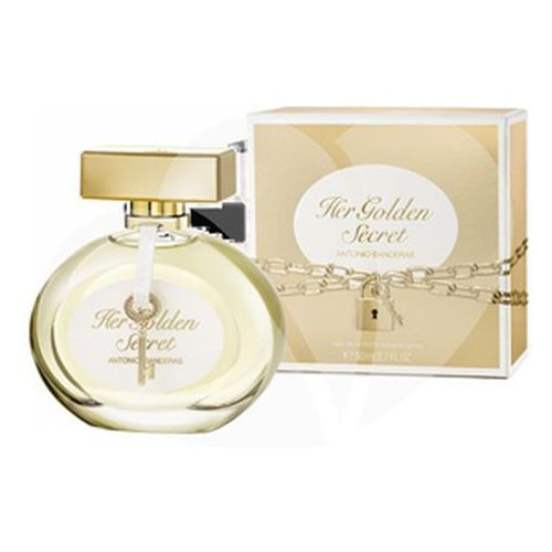 Wody toaletowe damskie, Antonio Banderas Her Golden Secret Woman 50ml EdT