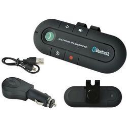 Zestaw głośnomówiący transmiter bluetooth do samochodu