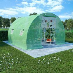VidaXL Szklarnia ogrodowa, stalowa rama, 6 m², 3x2x2 m
