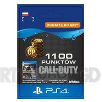 Klucze i karty pre-paid, Call of Duty: Modern Warfare 1100 Punktów [kod aktywacyjny] PS4
