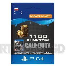 Call of Duty: Modern Warfare 1100 Punktów [kod aktywacyjny] PS4