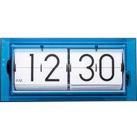 Zegary, Zegar klapkowy stołowy, ścienny Big Flip Clear niebieski by Nextime