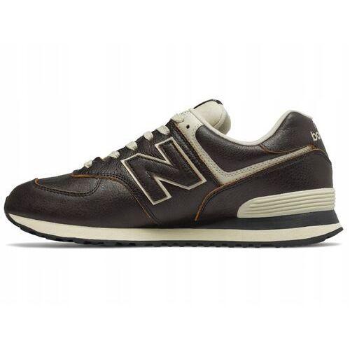 Męskie obuwie sportowe, BUTY MĘSKIE ML574LPK BRĄZOWE