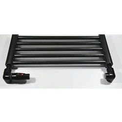 Zestaw łazienkowy osiowo lewy na PEX Schlosser Lux 6037 00057 Czarny RAL 9005