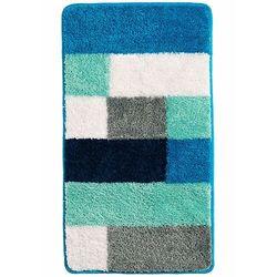 Dywaniki łazienkowe w kolorowy wzór bonprix niebieskozielony morski