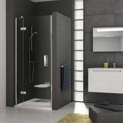 Ravak SmartLine drzwi prysznicowe SMSD2-90a, prawe, Chrom+Transparent 190 cm 0SP7AA00Z1