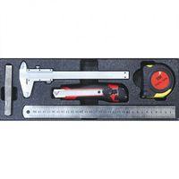 Zestawy narzędzi ręcznych, Zestaw narzędzi pomiarowych, 5 szt.