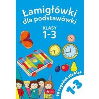 Książki dla dzieci, Łamigłowki dla podstawówki Klasy 1-3 - Praca zbiorowa (opr. broszurowa)