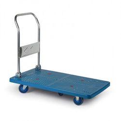 Wózek platformowy ze składaną rączką, 1100x650 mm, nośność 500 kg
