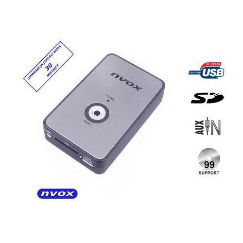 Zmieniarki samochodowe, NVOX NV1080A NISSAN Zmieniarka cyfrowa emulator MP3 USB SD NISSAN INFINITI