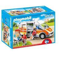 Klocki dla dzieci, Playmobil CITY LIFE Karetka 6685 rabat 9%
