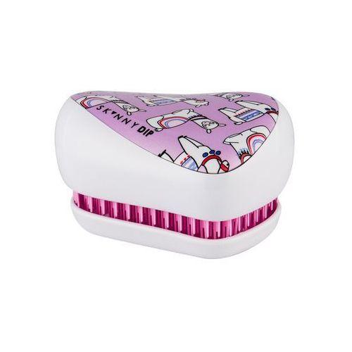 Grzebienie i szczotki, Tangle Teezer Compact Styler szczotka do włosów 1 szt dla dzieci Skinnydip Lovely Llama