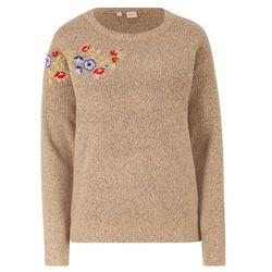 Sweter bonprix szafirowy