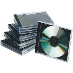 Pudełko na płytę CD/DVD Q-CONNECT, standard, 10szt., przeźroczyste