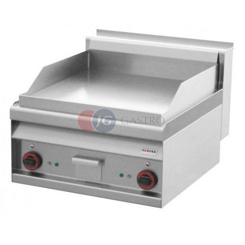 Grille gastronomiczne, Płyta grillowa elektryczna podwójna gładka chromowana Red Fox linia 700 FTL - 6 ETS