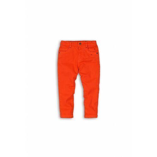 Spodenki dla niemowląt, Spodnie niemowlęce pomarańczowe 5L39AQ