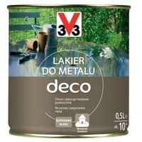 Lakiery, Lakier do metalu V33 Deco bezbarwny satyna 0,5 l