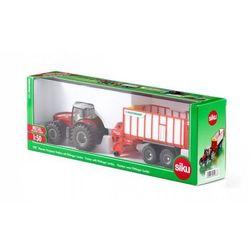 Farmer - Traktor Massey-Ferguson z przyczepą. Darmowy odbiór w niemal 100 księgarniach!