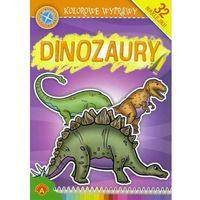 Książki dla dzieci, Kolorowe Wyprawy Dinozaury: 32 naklejki (opr. miękka)