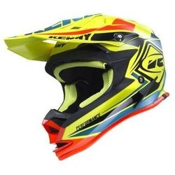 KENNY KASK OFF-ROAD PERFORMANCE YELLOW/BLUE/ORANGE