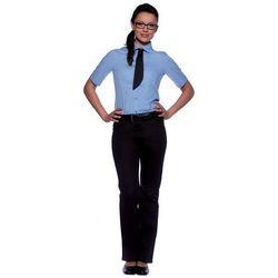 Bluzka damska z krótkim rękawem, rozmiar 34, jasnoniebieska | KARLOWSKY, Juli