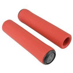 Chwyty kierownicy Author AGR Silicone Elite 129 mm, czerwone