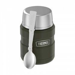 Thermos ® - termos obiadowy ze składaną łyżką - zieleń wojskowa army green