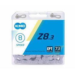 KMC Z8 EPT Łańcuch rowerowy 7/8-biegowy, grey 114 ogniwa 2019 Łańcuchy