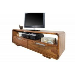 INVICTA szafka pod telewizor GOA 130 cm - Sheesham, drewno naturalne