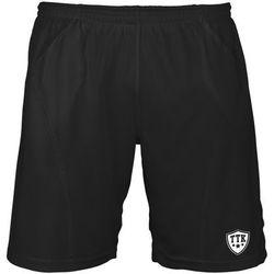 TTK T-SHORTS IRIDIUM BLACK - spodenki tenisowe R. XL