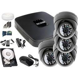 Zestaw do monitoringu: Rejestrator BCS-XVR0801E, 4x Kamera LV-AL25HD, 1TB, akcesoria