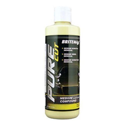 Pasty polerskie do karoserii, Britemax Pure Cut - Medium Compound 473ml rabat 20%