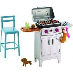 Barbie akcesoria wypoczynkowe - grill