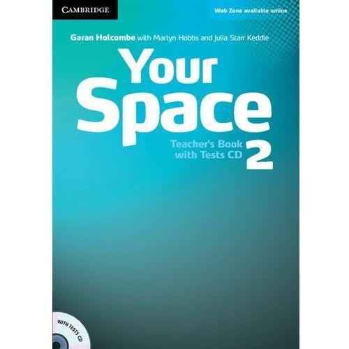 Książki do nauki języka, Your Space 2 Tb With Tests Cd (opr. miękka)
