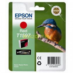 Epson oryginalny ink C13T15974010, red, 17ml, Epson Stylus Photo R2000